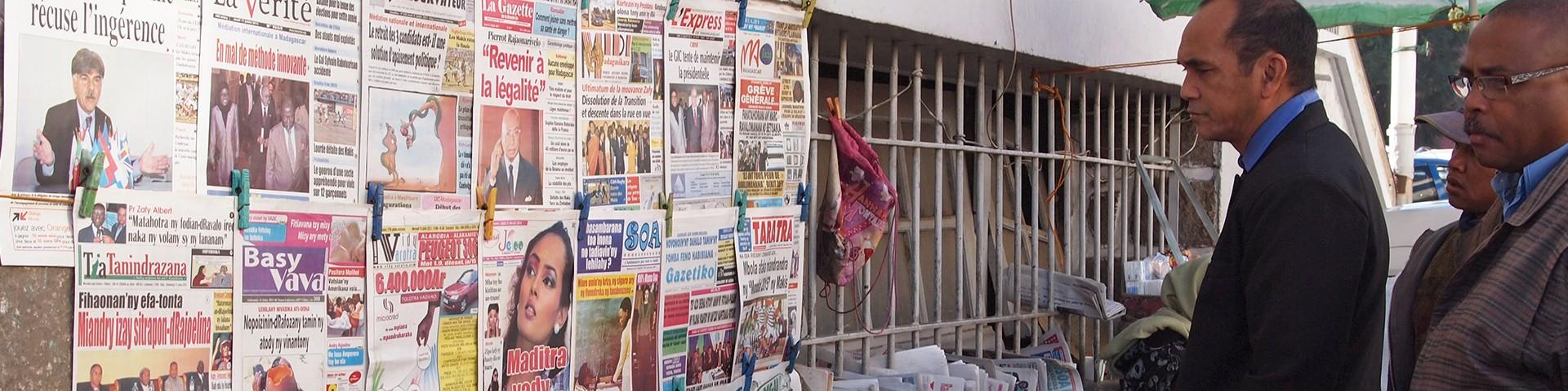 Cycle de formation à l'enquête journalistique à Madagascar
